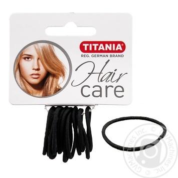 Защіпка Titania для волосся 12шт Art.7800  х6 - купити, ціни на МегаМаркет - фото 1