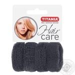 Защіпка Titania для волосся 4шт Art.7874  х6 - купити, ціни на МегаМаркет - фото 1