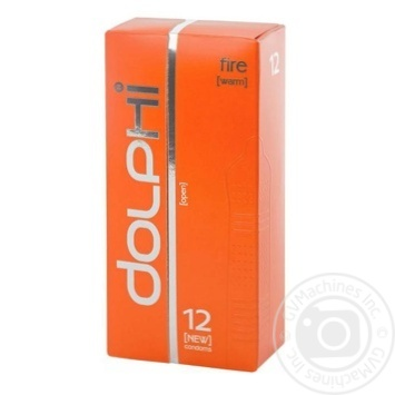 Презервативы Dolphi LUX Fire 12шт