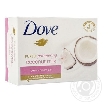 Dove Coconut Milk and Jasmine Petals Cream Cute 135g