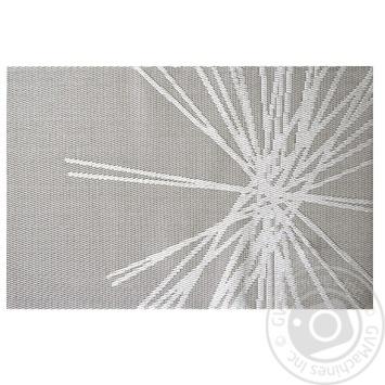 Коврик сервировочную серый 30x45см