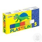 Пластилин детский 5 цветов Мицар Ц259018У - купить, цены на Фуршет - фото 1
