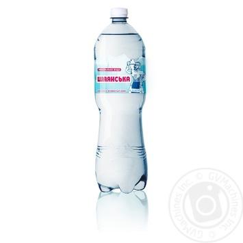 Вода Алекс Шаянская минеральная лечебно-столовая сильногазированная 1,5л - купить, цены на Ашан - фото 1