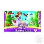 Plasticine Sofia 6 colors Mizar 251809 105g - buy, prices for Furshet - image 1