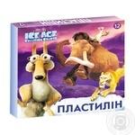 Пластилин Ice Age 12 цветов Мицар Ц701012У - купить, цены на Фуршет - фото 1