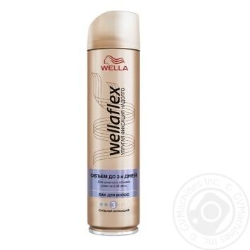 Лак Wellaflex длительная поддержка объема для волос 250мл - купить, цены на ЕКО Маркет - фото 1