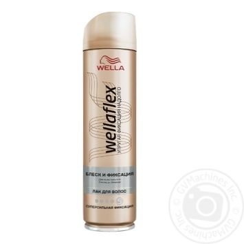 WELLAFLEX GLOSS AND FIXATION Hairspray Super-strong fixation 250ml - buy, prices for Metro - image 1