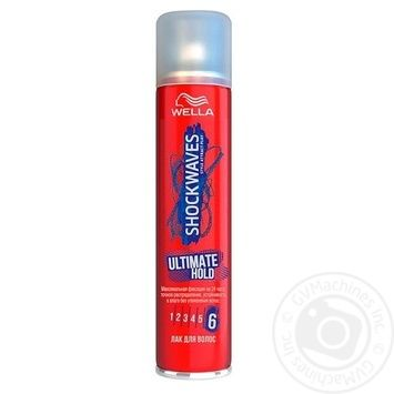 SHOCKWAVES Hairspray MAXIMUM FIXATION 400ml