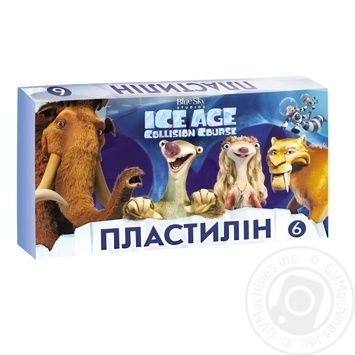 Plasticine Ice Age 6 colors Mizar Ц701011У - buy, prices for Furshet - image 1