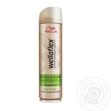 Лак для волосся WELLAFLEX Суперсильна фiксацiя 250мл