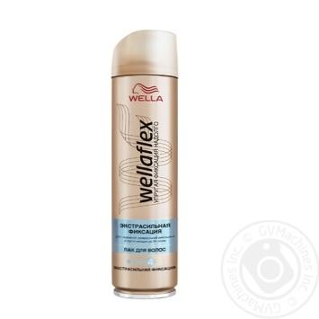 Лак для волос WELLAFLEX экстрасильной фиксации 250мл