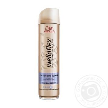 Лак для волос WELLAFLEX Объем до 2-х дней Экстрасильной фиксации 250мл