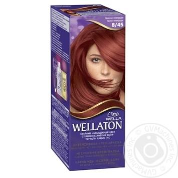 Фарба для волосся Wellaton Maxi Single 8/45 Червоний колорадо