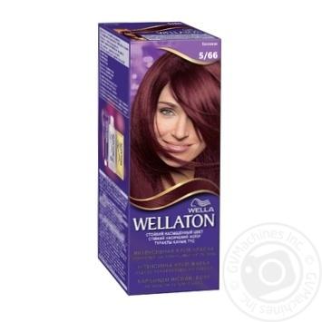 Cream-paint Wellaton eggplant for hair - buy, prices for Novus - image 1
