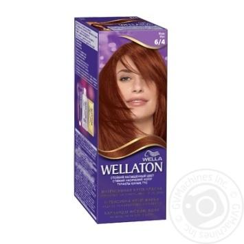 Крем-краска для волос Wellaton медь 6/4