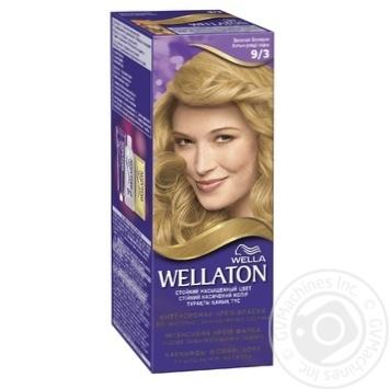 Фарба для волосся Wellaton Maxi Single 9/3 Золотий блондин