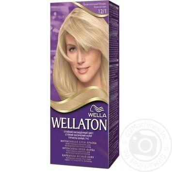 Фарба для волосся Wellaton №12/1 яскравий попелястий блондин 1шт