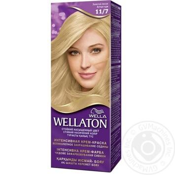 Фарба для волосся Wellaton Single 11/7 Золотий пісок