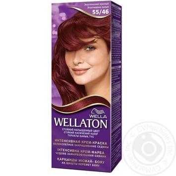 Фарба для волосся Wellaton Single 55/46 Екзотичний червоний