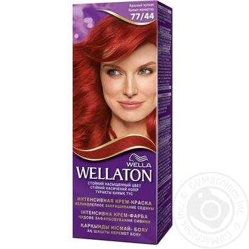 Permanent Wellaton Cream Color - Red Volcano 77/44 - buy, prices for Novus - image 1