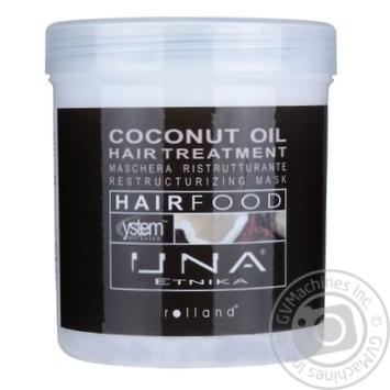 Маска д\волосся Una Etnika Hair Food Олія кокосу 1л