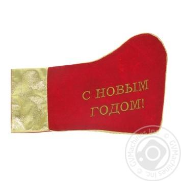 Носок для подарков Меломан АRX03638 - купить, цены на Фуршет - фото 1