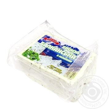 Сыр Килия Брынза Балканская 45% травы - купить, цены на Фуршет - фото 1
