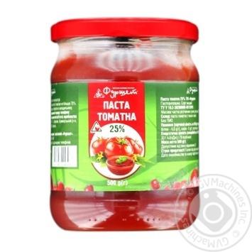 Паста томатная Фуршет 25% 500г - купить, цены на Фуршет - фото 1