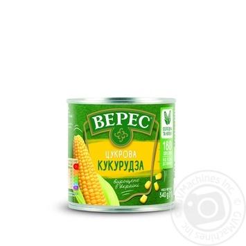 Кукурудза Верес цукрова 340г - купити, ціни на МегаМаркет - фото 3