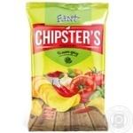 Чипсы Flint Chipster's картофельные со вкусом томата Спайси 130г