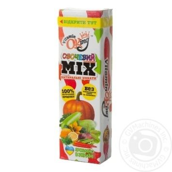 Цукаты Vitamin Oking Овощной микс 40г