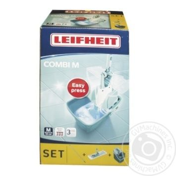 Leifheit Cleaning set bucket and mop for cleaning  floor