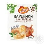 Вареники Сита Дом картофель/жареный лук 900г