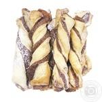 Cookies Suzirya Pigtail braids style with chocolate Ukraine