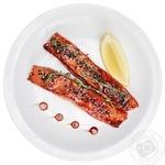 Філе лосося в соусі теріякі