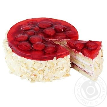 Cake Masters of taste Strawberry strawberries with cream - buy, prices for Novus - image 1