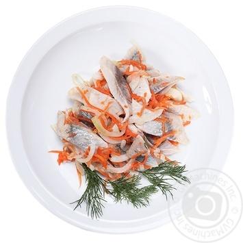 Филе сельди с морковью и луком