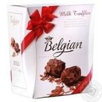 Трюфельні цукерки з молочного шоколаду Belgian 145г