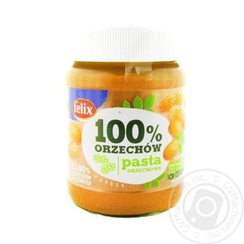 Паста арахисовая Felix 100% 350г - купить, цены на МегаМаркет - фото 2