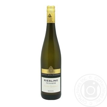 Riesling Fineh 2016 White Semi-Dry Wine 0,75 l - buy, prices for CityMarket - photo 1