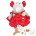 Іграшка - рюкзак Мишка - дівчинка Tigres