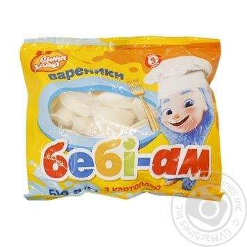 Вареники Сита Дом Бэби-Ам с картофелем 500г - купить, цены на ЕКО Маркет - фото 1