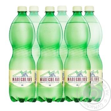 Вода минеральная Набеглави лечебно-столовая сильногазированная 1л - купить, цены на Метро - фото 1