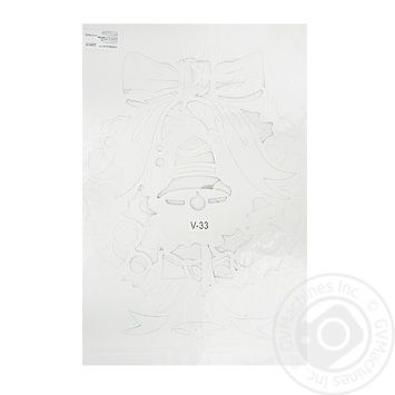Stencil for synthetic snow - buy, prices for Furshet - image 1