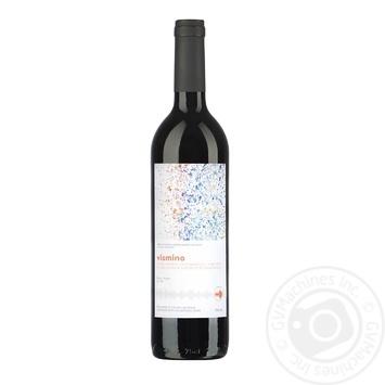 Вино Vismino Напареули красное сухое 0.75л - купить, цены на Фуршет - фото 1