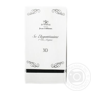 Коньяк Jean Fillioux So Elegantissime XO 40% 0,7л