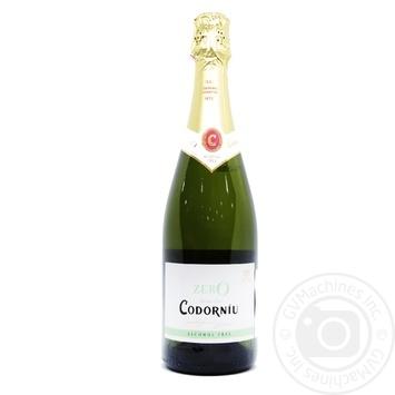 Вино ігристе Codorniu Zero 0.05% 0,75л - купити, ціни на CітіМаркет - фото 1