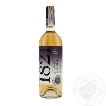 Вино Bolgrad Розе рожеве сухе 0.75л - купити, ціни на Фуршет - фото 1