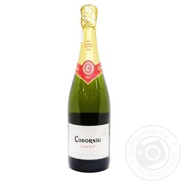 Cava Codorniu Clasico White Brut Sparkling Wine 11.5% 0.75l - buy, prices for CityMarket - photo 1