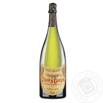 Juve y Camps Reserva de La Familia White Brut Sparkling Wine 12% 3l - buy, prices for CityMarket - photo 1